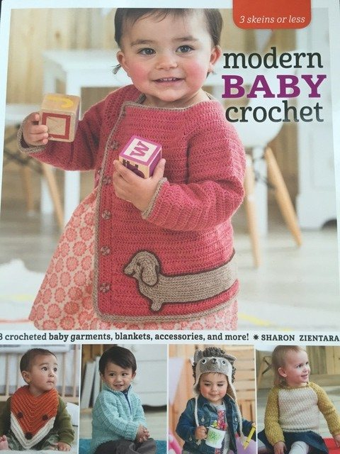 modern baby crochet book