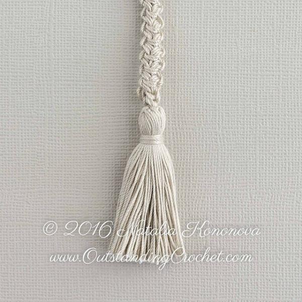 romanian cord tassel tutorial