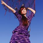 ruchkikruchki purple crochet dress