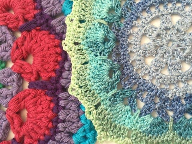 angela crochet mandala 7