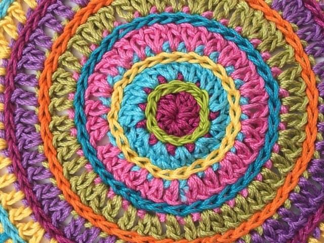 bethel crochet mandala 6