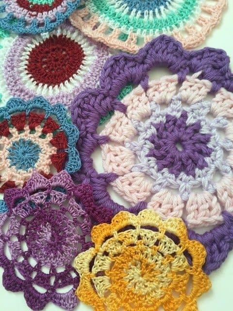 carol crochet mandalas 2