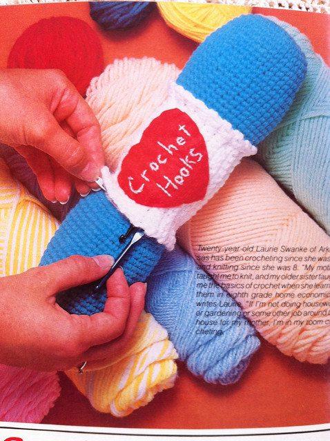 crochet skein of yarn