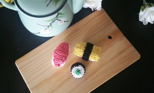 crochet sushi free pattern