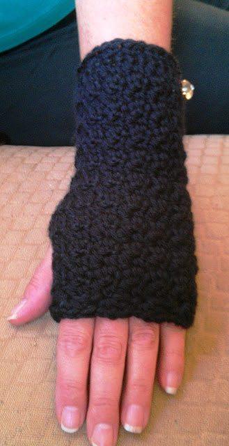 crochet wristwamers free pattern
