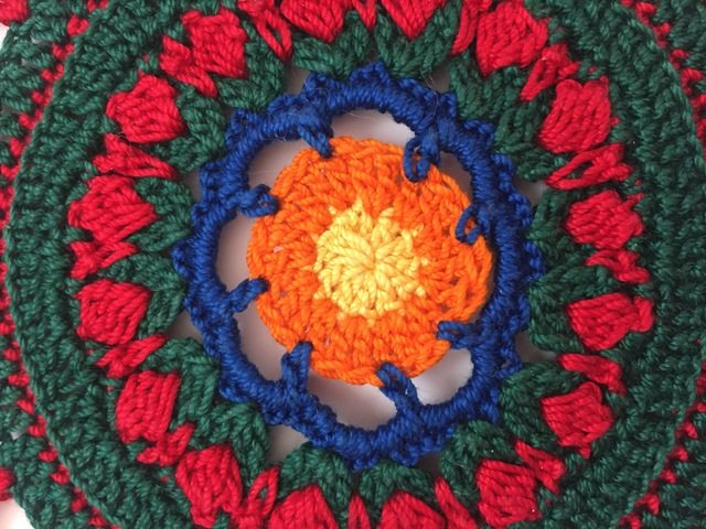 esmeralda crochet mandala 6