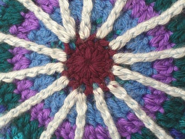 esmeralda crochet mandala 7
