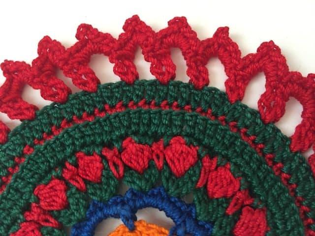 esmeralda crochet mandala 8