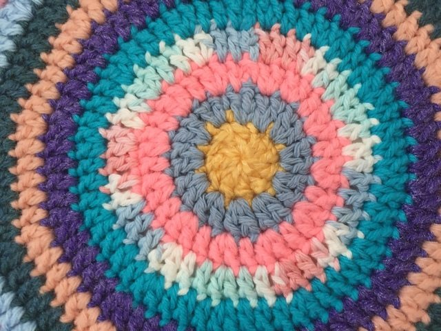 evelyn crochet mandala for wink