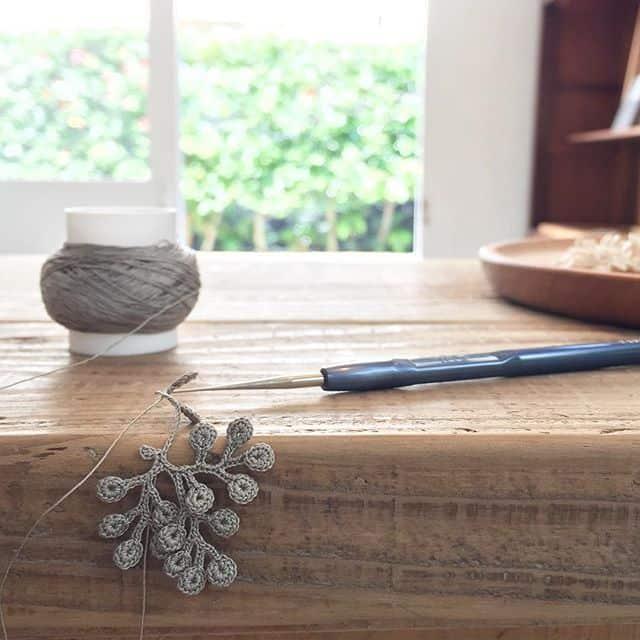 fujitamiho crochet art jewelry