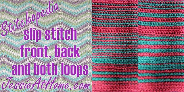 how to crochet slip stitch