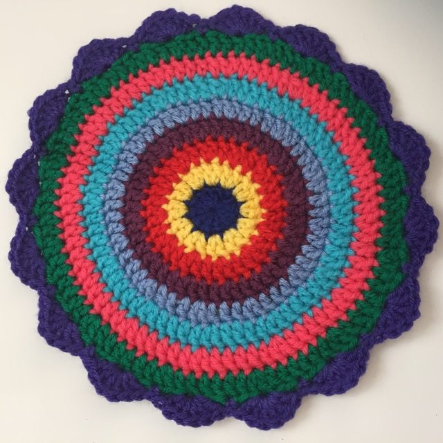 jennie crochet mandala for marinke