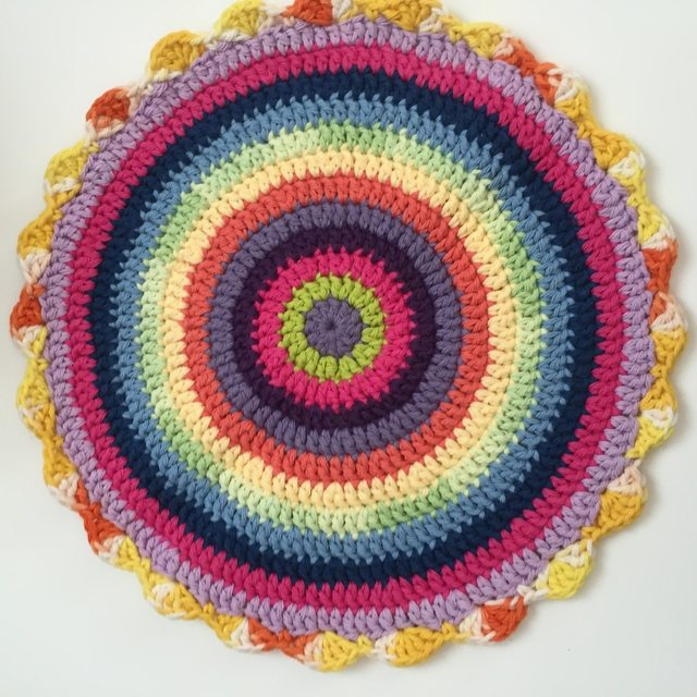 juanita crochet mandala for wink