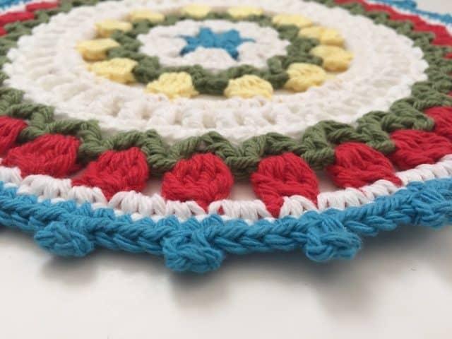 kate crochet mandala for wink