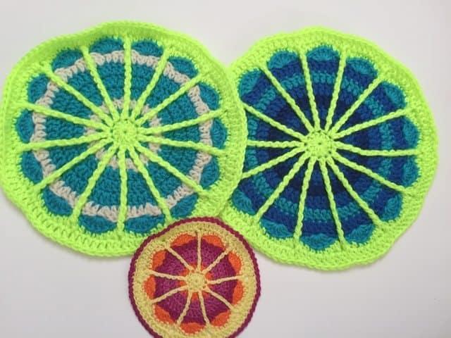 kristin crochet mandalas for marinke