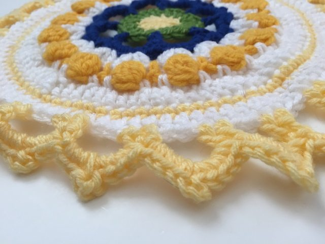 mary crochet mandala 3