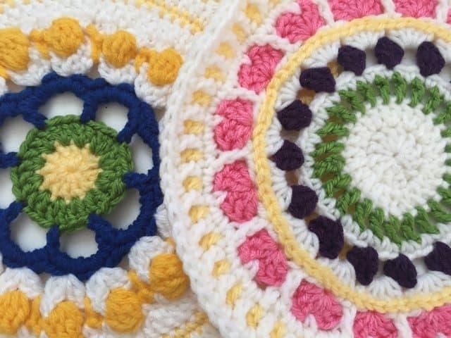 mary crochet mandalas for wink