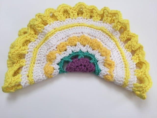 maureen crochet mandala 1