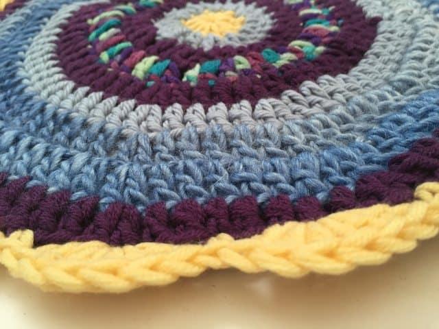 misha-anne crochet mandala for marinke