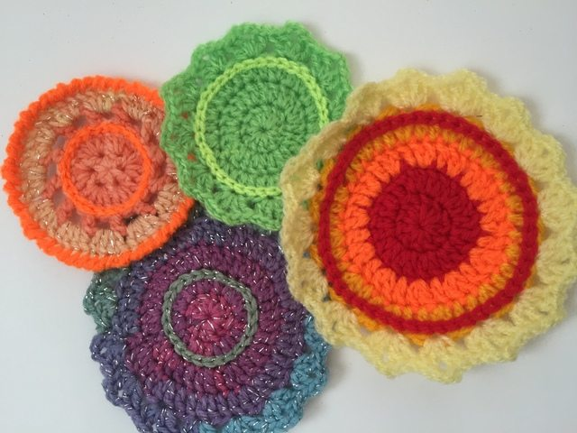 nat crochet mini mandalas