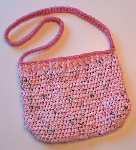 plarn purse free crochet pattern