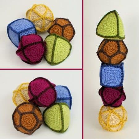 polyhedral balls crochet pattern