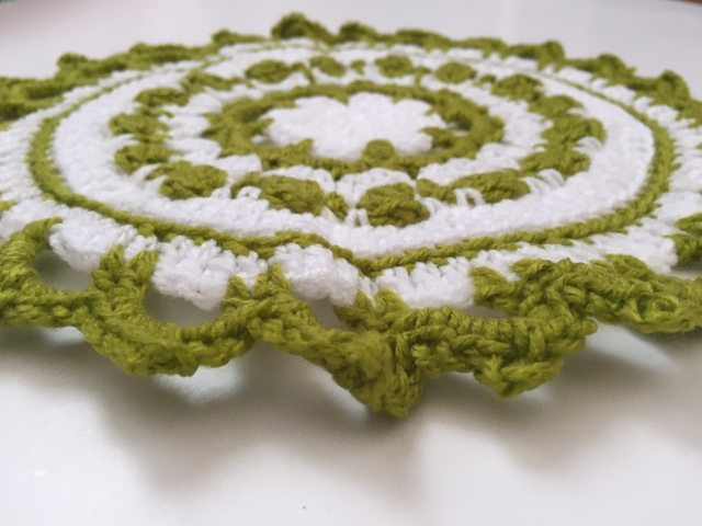 rachael crochet mandala for wink