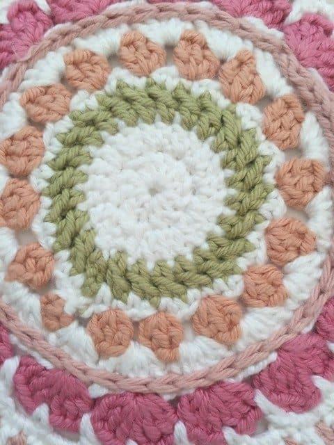 rosalind crochet mandala 2
