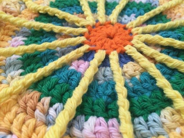 ruth crochet mandala 1
