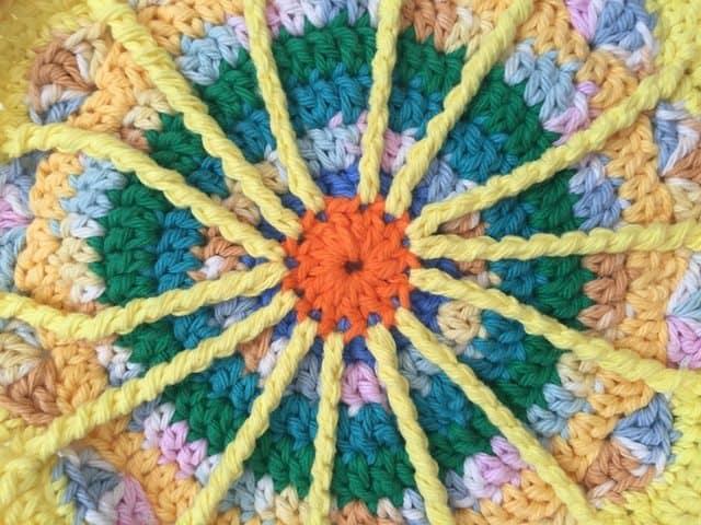 ruth crochet mandala 5