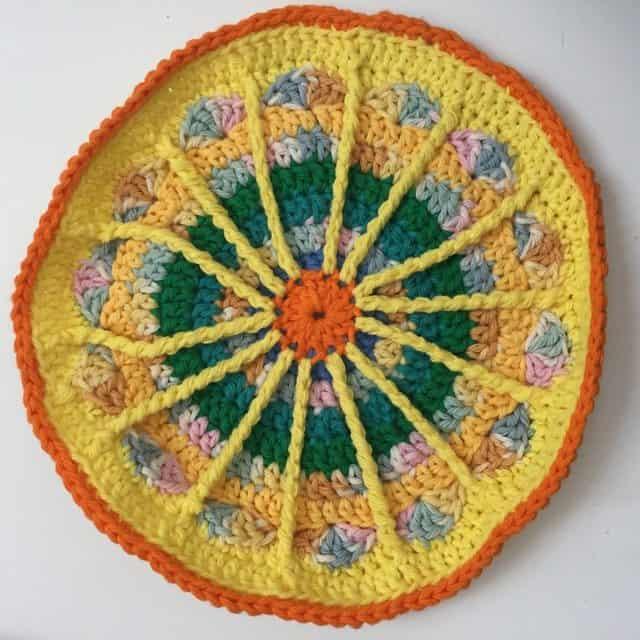 ruth crochet mandala for marinke