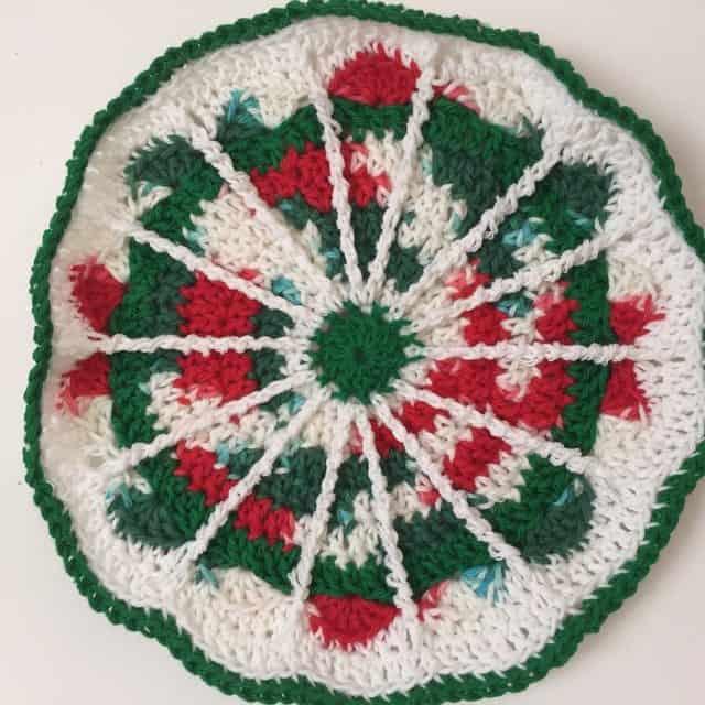 ruth crochet mandala for wink