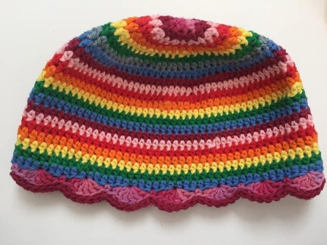 ruth crochet mandala hat