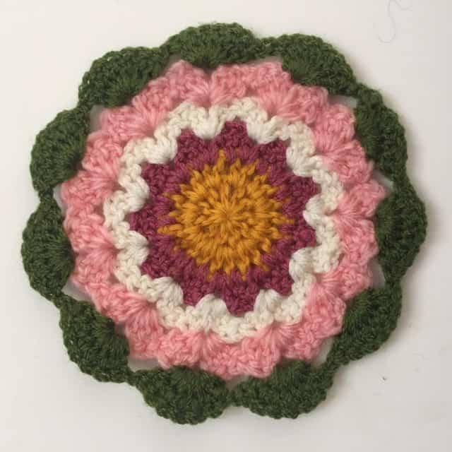 sandra crochet mandala 3