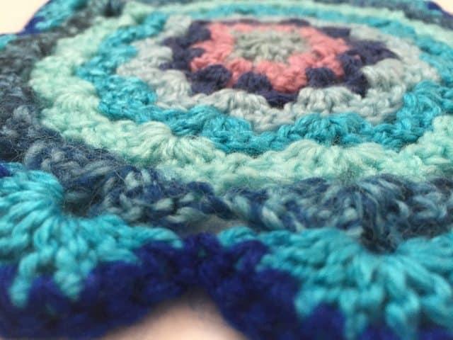 sandra crochet mandala 4