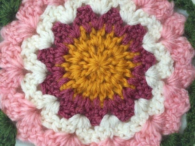 sandra crochet mandala 5