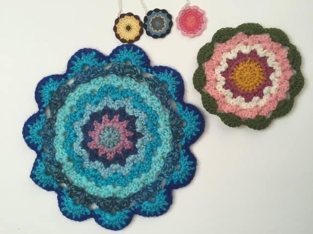 sandra crochet mandalas 2