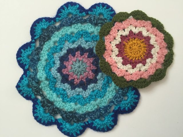 sandra crochet mandalas for wink