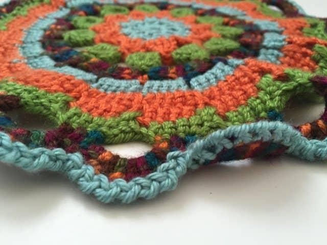 sarah crochet mandala 1