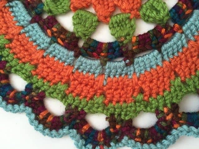 sarah crochet mandala 3