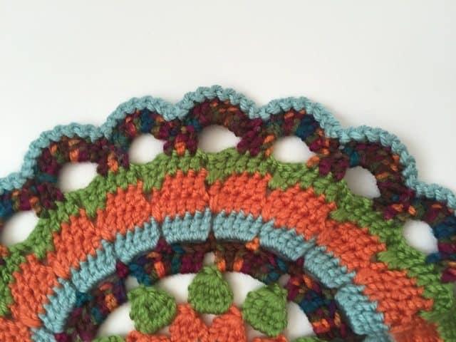 sarah crochet mandala for marinke