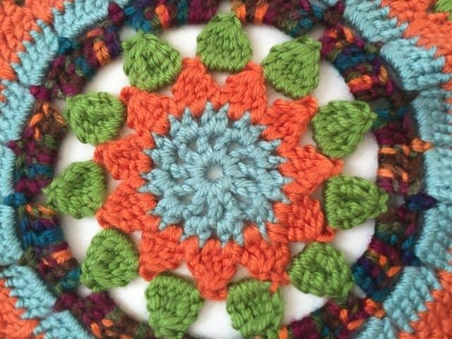 sarah crochet mandala for wink