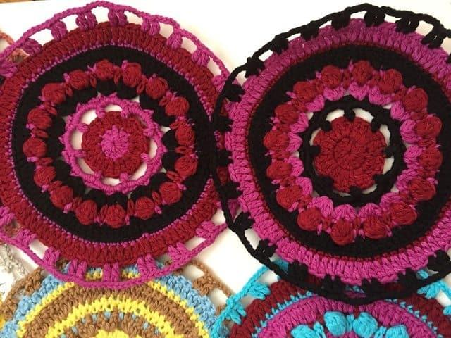 vaidehee crochet mandalas 2