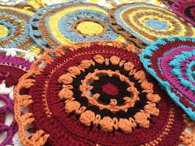 vaidehee crochet mandalasformarinke