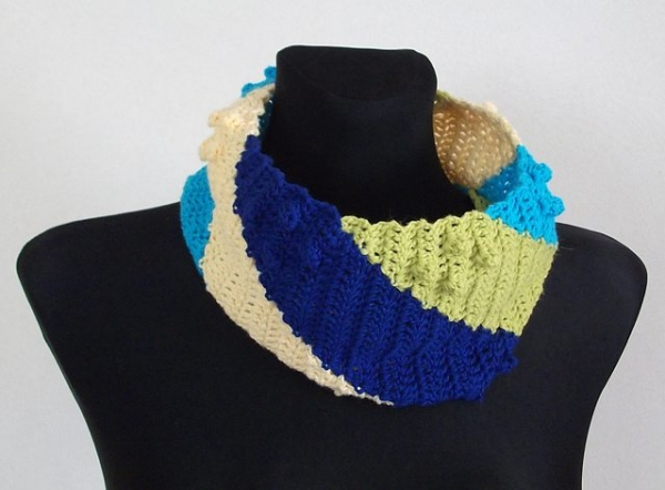 whirl cowl crochet pattern