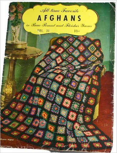 1944 crochet afghans book