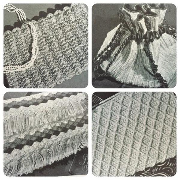 1944 crochet bags book