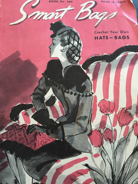 1944 crochet hats and bags book