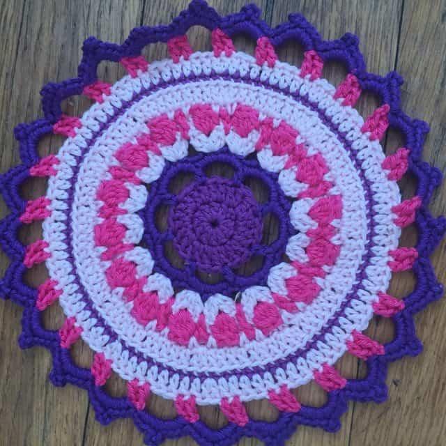 christa crochet mandalasformarinke