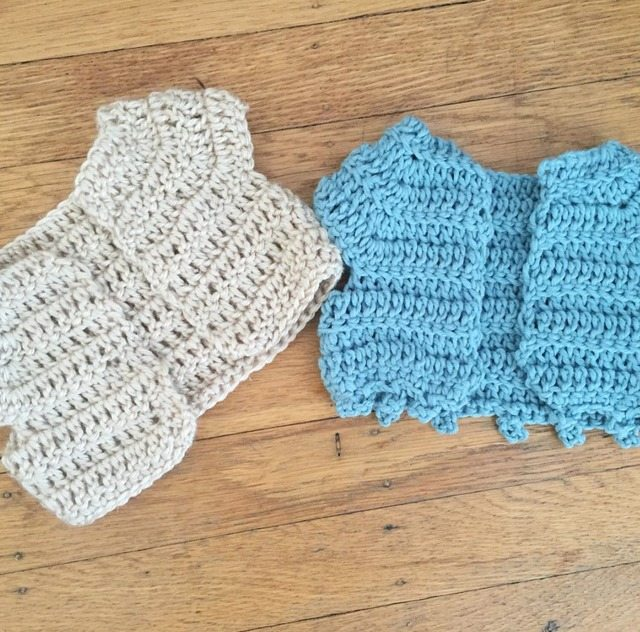 crochet cardigan shrugs for baby